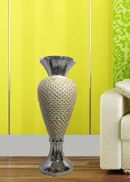 Fab Home Decor Decor Fab Home Polyresin Vase With Seashells Largegifts
