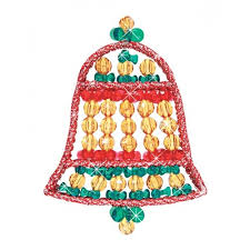 74 best bell ornaments images on beaded