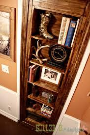 hidden bookcase door hometalk
