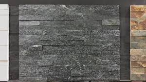 zt004 decorative stones for exterior wall house in dark grey color