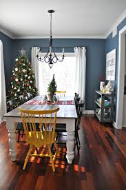 Christmas Decorations Blue Room by Holiday Home Tour Dining U0026 Kitchen Dining Room Decorating