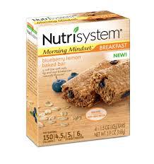 nutrisystem eating out guide nutrisystem morning mindset blueberry lemon baked bars 1 5 oz 4