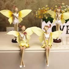 Angel Home Decor Online Get Cheap Flower Fairies Figurines Aliexpress Com