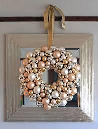 25 unique ornament wreath ideas on diy door wreaths