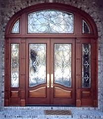 glass wood doors custom doors stained glass art glass wood doors church doors