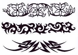 tribal cross tattoo design real photo pictures images and