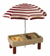 step 2 water table with umbrella step 2 naturally playful picnic table