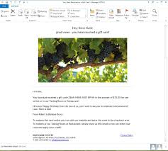 email gift card niner wine estates products gift card