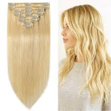 24 In Human Hair Extensions by Amazon Com Blonde Hair Extensions Grammy 22 Inch Remy Clips In