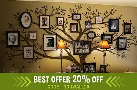 Wall Decal Family Tree Wall Decal Living Room Wall Decals - Family room wall decals