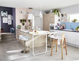 implantation cuisine ouverte marvelous cuisine ouverte avec ilot central 4 votre avis sur