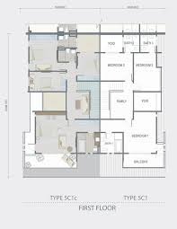 Cluster House Plans Floor Plan Malaysia House House Interior