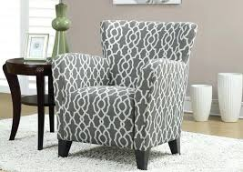 Printed Accent Chair Grey Patterned Accent Chair Ed Fabric Printed Gray U2013 Tijanistika Info
