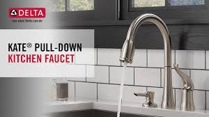 delta kate kitchen faucet delta kate single handle pull sprayer kitchen faucet with