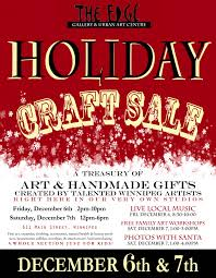 the edge annual holiday craft sale the edge gallery u0026 urban art