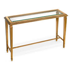Antique Sofa Tables by Antique Gold Leaf Console Table With Glass Top Console Tables