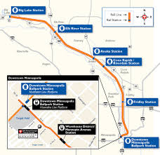 Light Rail Map Minneapolis Northstar Commuter Rail Opens For Service In Minneapolis The