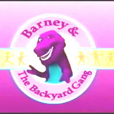 1990 extremely rare barney u0026 the backyard gang plush dakin inc