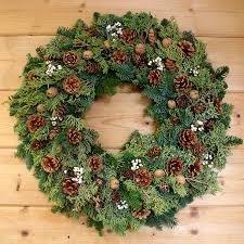 pine cone wreath juniper pine cone wreath creekside farms
