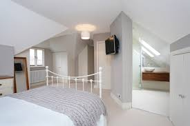 loft conversion contains the master bedroom wet room and wc
