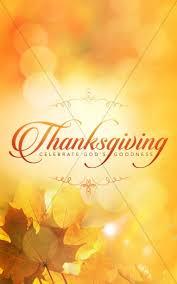 thanksgiving celebrate god s goodness christian bulletin