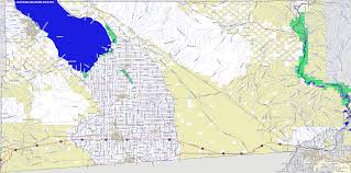 Montgomery County Snow Removal Map 100 Ca County Map California Digital Map Library United