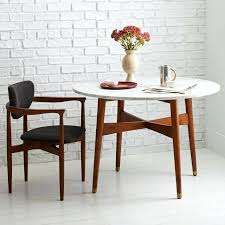 West Elm Dining Room Chairs Mid Century Round Dining Table U2013 Rhawker Design