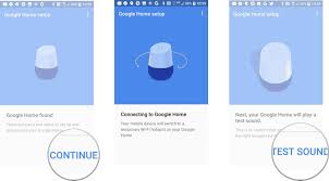 home blue how to set up google home android central