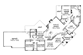 attractive design 1 one story house plans for corner lot plan