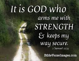 bible verse about strength 2 samuel 22 3 bible verse images