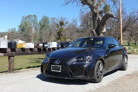 cars lexus 2017 2017 lexus is f sport a stylish sporty and small ish sedan