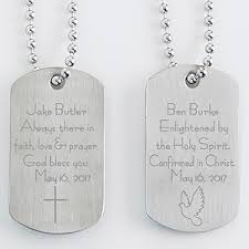 personalized religious gifts personalized religious dog tag set confirmation