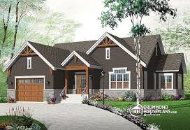 craftsman home plan house plan w3260 v3 detail from drummondhouseplans