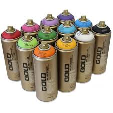 montana gold spray paint 12 pack graff city ltd from uk