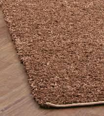 2 x 8 chandra rugs saket 3704 brown leather shag area rug flat