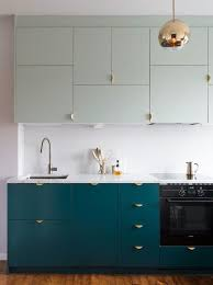 ikea blue grey kitchen cabinets we priced two rooms with custom ikea cabinetry and here s