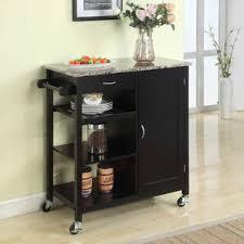 Marble Top Kitchen Work Table by Black Kitchen Islands U0026 Carts You U0027ll Love Wayfair