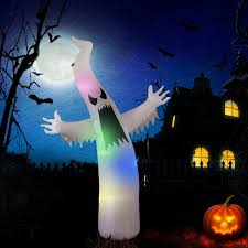 Halloween Ghost Lights Amazon Com Yunlights Halloween Inflatable Decorations For