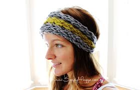 knit headbands how to finger knit an ear warmer in 15 minutes with simply maggie