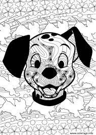 coloriage disney anti stress puppies jecolorie com