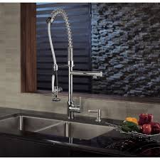 kraus pull out kitchen faucet kraus kitchen faucets home design ideas and pictures