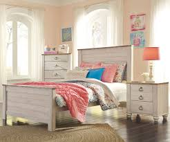 willowton full size panel bed b267 ashley kids furniture kids