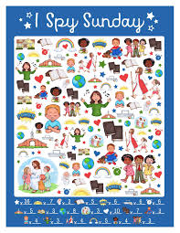 free i spy sunday printable game u0026 answer key www teepeegirl com