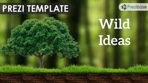 wild ideas prezi template prezibase prezi t