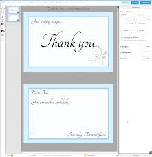 how to write a thank you card using lucid press free indesign