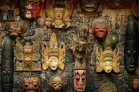 where to buy masks bali shopping where to buy authentic souvenirs travel associates