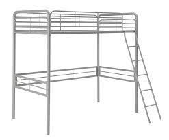 Bunk Bed Metal Frame Dhp Simple Metal Loft Bed Frame Multifunctional