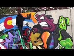 Cheap Spray Paint For Graffiti - spray paint colorado graffiti youtube