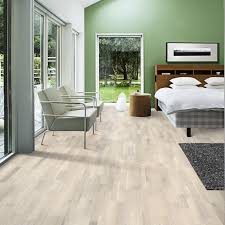 Kahrs Wood Flooring Oak Pale Matt Lacquered Engineered Wood Flooring