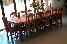 Large Dining Room Table Seats 12 12 Seating Dining Room Tables Chairs Rectangular Dining Table